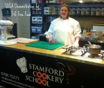 Me at stamford Cookery school sosa Demo
