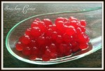 Strawberry caviar , Vegi gel