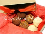 Gold box Six Truffle selection £3.40 plus P&P (Passion-fruit & White chocolate, Dark Chocolate Strawberry & Champagne, Milk chocolate Caramels)