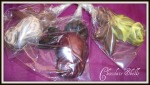 Hand Made Chocolate Rose Lollipops £1 Plus P&P Also available as a bouquet, you set the Price!