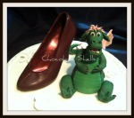 Wedding Cake Topper (Pete's Dragon & Stiletto)