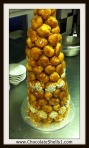 Croquembouche ( 15 People Had for Dessert)