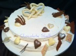 Baileys & White Chocolate Cheese cake Wedding cake