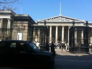 Arrived at The British Museum
