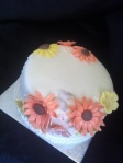 Bring a little Sunshine into the office or Ladies celebration cake serve 10 