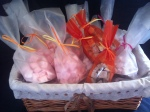 Strawberry, Cherry or Toffee Hand made Marshmallow £1.50 per Bag