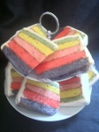 Rainbow Cake £1.20 per slice 