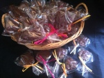 Pot luck Small Milk chocolate Lollipop 50p each.