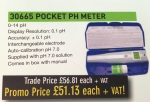 pocket pH meter available from HCF