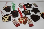 Tree decorations usung Silicone moudls available from HCF
